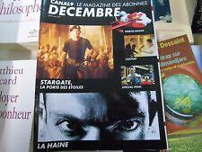 Magazine canal + n°109 1996 la haine stargate porco rosso l'expert Mister jack