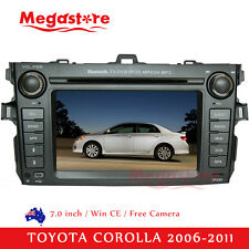 "7.0"" Car DVD PLAYER GPS Radio Stereo head unit For TOYOTA COROLLA 2006-2011"