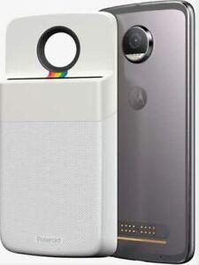 Motorola Polaroid Insta-Share Printer Moto Mod- PG38C02062 for Moto Z, Z Play,