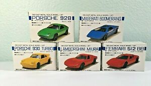 LOT - 5 Masudaya - Oriental Limited - 1:87 Toy Cars - w/boxes - 4 of 5 Not Built