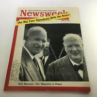 VTG Newsweek Magazine June 28 1954 - Winston Churchill & Dwight D. Eisenhower