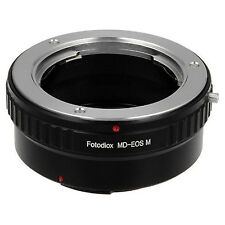 Fotodiox Objektivadapter Minolta MD Linse für Canon EOS M Kamera