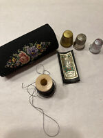 Vintage Needlepoint West Germany Sewing Kit