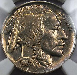 1934-D Buffalo Nickel Gem BU NGC/CAC MS-64...Flashy & Very NICE! A Tough Date!!!