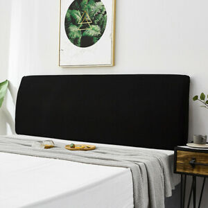 Elastic Bed Headboard Slipcover Protector Cover Soft Bed Cover Home Practical