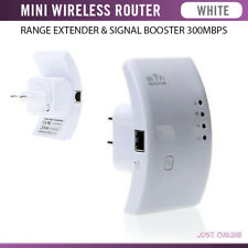 MINI WIRELESS N WIFI ROUTER, REPEATER, RANGE EXTENDER & SIGNAL BOOSTER 300MBPS