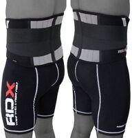 RDX Rückengürtel Gewichthebergürtel Fitness Gym Trainings Rückenstützgürtel DE