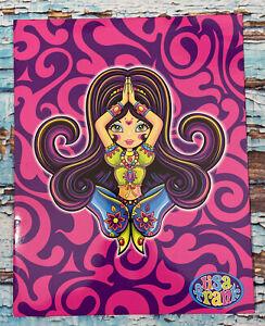 Vintage Y2k Lisa Frank Genie Girl Folder 2001 Never Used