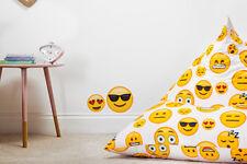 Emoji Girl Large Children Pyramid Shape Bean Bag Gaming Kids Beanbag Chair Gamer