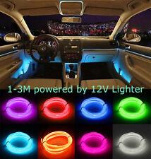 LED EL Wire Neon Glow Car Interior Atmosphere Strip Light Car Decor Lamp Belt