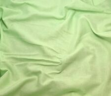Spring GREEN Cotton Voile Batiste Fabric WHITE 54""
