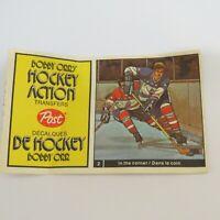 1972-73 Post Cereal Bobby Orr's Hockey Action Transfers # 2 Tallon & Berenson