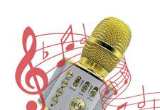 Microphone,Wireless Microphone Karaoke Mini Bluetooth Handheld Speaker / H12Kara