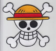 PARCHE ONE PIECE LUFFY TERMOADHESIVO  9 CMS  PATCH