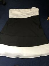 Teatro Dress Black white UK Size 16