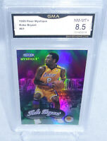 1999 Fleer Mystique Kobe Bryant Refractor Card #61 GMA Graded NM-MT+ 8.5 LAKERS