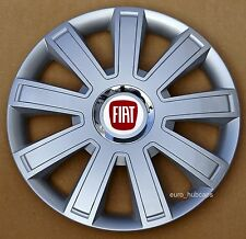 "4x16"" wheel trims, Hub Caps, Covers to fit Fiat Punto,Doblo MK3,Scudo"