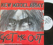 """NEW MODEL ARMY ~ Get Me Out ~ GATEFOLD 12"""" Single PS & POSTER"""
