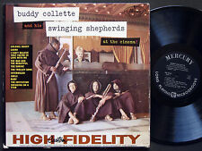 BUDDY COLLETTE At The Cinema LP MERCURY MG 20447 US 1959 Paul Horn Shelly Manne