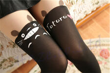 Anime My Neighbor Totoro Pantys Kawaii Media Mallas altas Calcetines