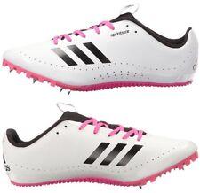 Adidas Performance SprintStar W Running Spikes White Pink BB5751 Women's 9.5 New
