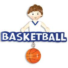 PERSONALIZED CHRISTMAS ORNAMENT SPORTS-BASKETBALL-BOY
