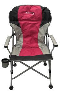 Liberty Folding Camping / Caravan / Festival Chair - Red