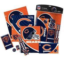 Chicago Bears NFL 11 Piece Stationery Set (Note Pads Pencils Eraser...)