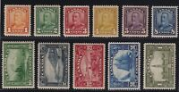 Canada Sc #149-59 (1928-9) Scroll Issue Complete Set Bluenose Mint VF NH