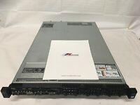 DELL PowerEdge R630 Server 2x 6 Core E5-2620 v3 64GB 400GB SSD H710 ESXi 7.0.0