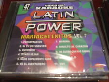 LATIN POWER KARAOKE VCD DVD VCLP-047 MARIACHI EXITOS VOL 7 SEALED