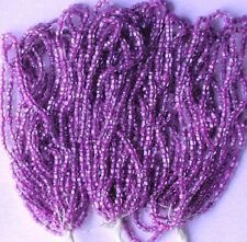 Regal Dk Purple Vintage Antique CL Round Glass Seed Beads 3 Mini Hanks (7089725)