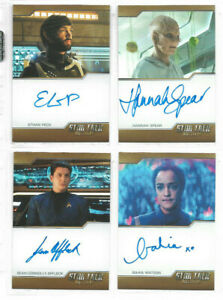 Star Trek Discovery Season 2 - Autograph & Costume Relic Card Selection NM 2020