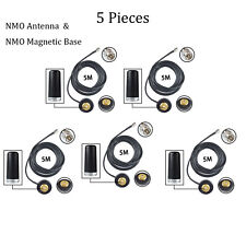 Lot 5 NMO Antenna Magnetic Mount Base for Motorola PM400 PM1200 PM1500 Radio