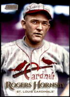 Rogers Hornsby 2019 Topps Stadium Club 5x7 Gold #273 /10 Cardinals