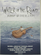 Eddie Vedder 2011 Water On The Road Promotional Poster New Old Stock Pearl Jam