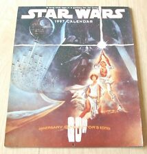 STAR WARS COMMEMORATIVE 1997 CALENDAR (FILM POSTERS)