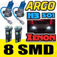 PORSCHE 911 996 H3 100W SUPER WHITE XENON HID FRONT FOG LIGHT BULBS 501 LED SMD