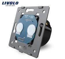 Innenleben Doppelschalter Touch Serienschalter Lichtschalter Livolo VL-C702
