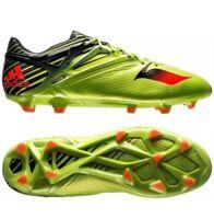adidas Men's Messi 15.1 FG AG Soccer Cleats Sizes 10-12 Solar Slime Black S74679