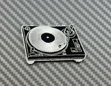 Patch Iron Sew Logo BADGE EMBROIDERY turntable DJ music lover player vintage