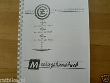 C0005 CZ---MONTAGE HANDBUCH---125cc + 175cc + 250cc (453+473+450+455+475+)+(05+0