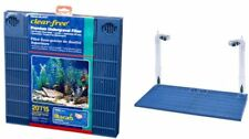 Penn Plax 20 Gallon Fish Tank Under Water Filter Premium Aquarium Undergravel US