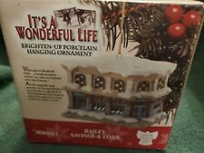 Enesco - Bailey's Savings & Loan Ornament - It's A Wonderful Life