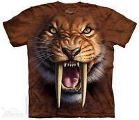 New The Mountain Sabertooth Tiger T Shirt