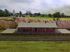 Ho scale building NSWGR A-8 Station center platform