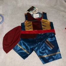 Build A Bear Disney Descendants Jay Costume Outfit With Hat Retired 2016 NWT