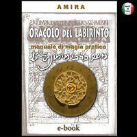 Oracolo antico libro da collezione rivisitato grimorio magia rituali esoterismo