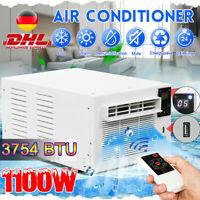 1100W 220V Mobile Klimageräte Kühlung Air Conditioner  3754BTU Heizgeräte Home