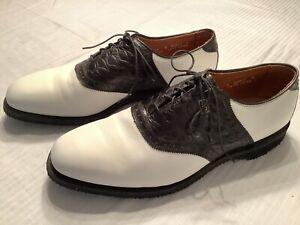 Vintage Allen Edmonds Golf Shoe 1995 Greater Milwaukee Open Mens Size 11 D
